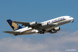 Boeing A380-800 - Singapore Airlines