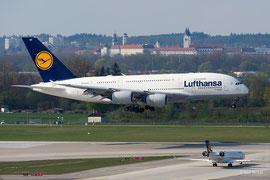 Airbus A380-800 - Lufthansa