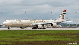Airbus A340-600 - Etihad
