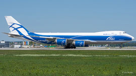 Boeing 747-8F (Cargo) - Air Bridge Cargo
