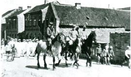 Schützenfest in Bürvenich 30er Jahre