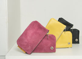 handmade wallet recycled leather