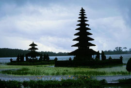Bratansee, Bali, Urlaub 1997