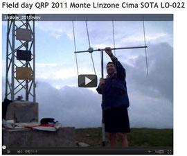 Attivazione Cima SOTA LO-022 Linzone