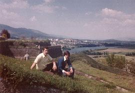 Garrido II y Catelo en Valença (Portugal)