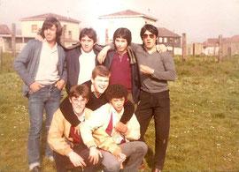 Foto 5-Antes del partido contra el Cimadevilla-Medina,Carlos Gil,Alberto,Chacon,Galan,Pablo, Cue-II