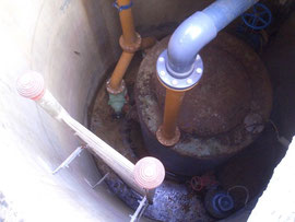 Rissverpressung Pumpwerk Scheesel