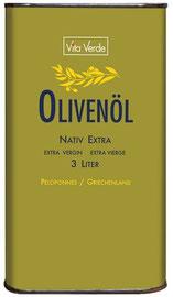Bio-Olivenöl, extra nativ