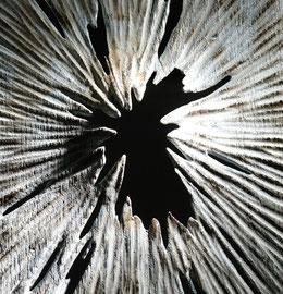 """Empreinte "" chêne - 150 cm - détail - 2009"