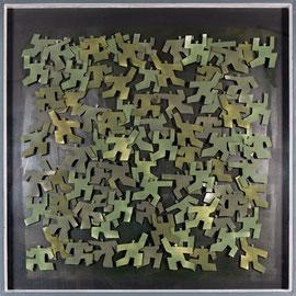 Agitations 4 - 2011 - Aluminium peint - 150 x 150 cm