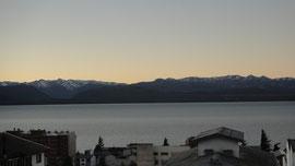 Espectacular vista al lago y la ciudad