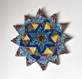 Stella della gioia, 2017, mosaico, (Proprietà privata)