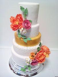 Amerikanische Hochzeitstorte Vorarlberg Renates Torten Design