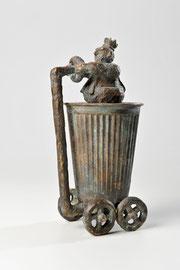 Königskutsche -Bronze - H 16 cm - 1999