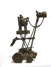 Königskutsche III - Bronze - H 25 cm - 2017