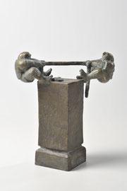 Tauzieher - Bronze - H 19 cm - 2002