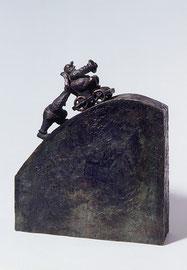 Sisyphos - Bronze - H 29 cm - 1999