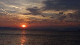 Blick nach Istrien