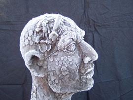 Adam, 2000, 196 cm - Ausschnitt überfrostet