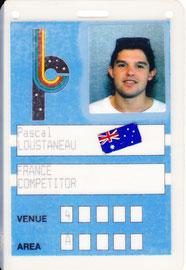 Championnat du Monde à Perth (Australie)1991