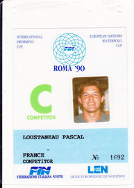Coupe d'Europe des nations à Rome 1990