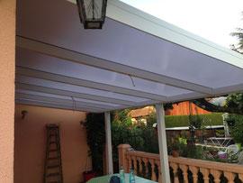 Une toiture en polycarbonate de 16 mm, opale ou translucide sur la commune de Domessin à 5 minutes du Lac d'Aiguebelette 73