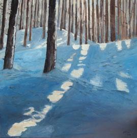 Wintersun, Öl_Lwd. 90x100cm
