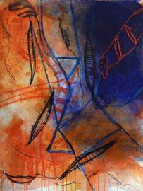 geschichten ohne titel, #6, 2015, mm auf bütten, 57x76 cm
