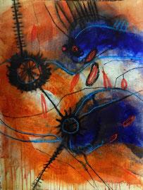 geschichten ohne titel, #2, 2015, mm auf bütten, 57x76 cm