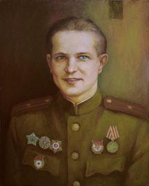 Гвардии майор Григорий Кириллов