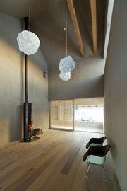 Stallumbau Gizehus Amriswil: Wohnzimmer (Foto Stephanie Künzler)