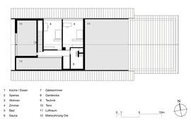 Gizehus Amriswil: Dachgeschoss