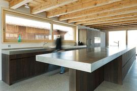 Stallumbau Gizehus Amriswil: Küche (Foto Stephanie Künzler)