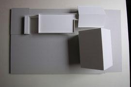 Holzbau Bikinibüro Widnau: Arbeitsmodell