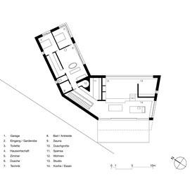 Waldtraut St. Margrethen: Wohngeschoss