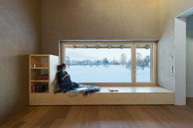 Stallumbau Gizehus Amriswil: Fensterbank (Foto Stephanie Künzler)