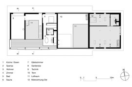 Stallumbau Gizehus Amriswil: Obergeschoss