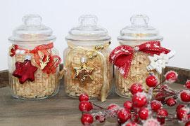 Zirbenduftglas Weihnachten