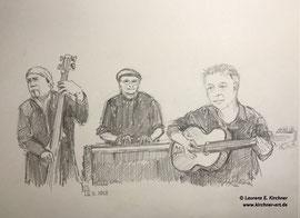 Tangueres - Tango live - Zeichnung 29,7 x 21 cm