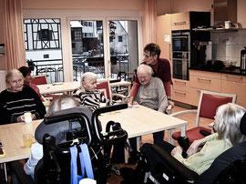 meine Arbeit im Seniorenheim