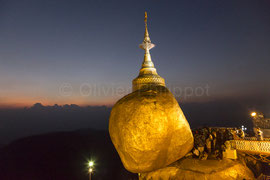 Birmanie - Rocher d'Or / Golden Rock © Olivier Philippot