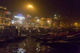 Reportage Ganga Aarti à Varanasi 2 © Olivier Philippot