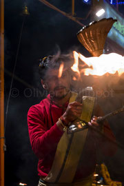 Reportage Ganga Aarti à Varanasi 11 © Olivier Philippot