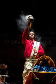 Reportage Ganga Aarti à Varanasi 5 © Olivier Philippot
