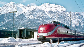 BR 601 als InterCity in Garmisch-Partenkirchen (1968)