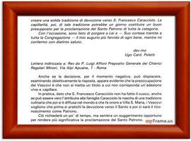 Elaborato di Padre Affoni & lettera del Cardinale Poletti ( 2°parte)
