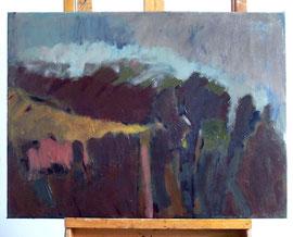 Z-10 Landschaftsmalerei – Öl auf Acryl auf Leinwand des Malers Lothar A. Janssen; Maße: 50 x 70 cm; Preis: 550,-- EUR