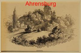 DA 3 Ahrensburg, Hst. um 1870 - 7,5 11,5 (25x20) = EUR 15