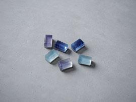 ore                   :glass, silver//////pierced earrings