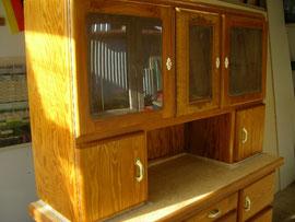 Restaurierung eines Küchenschrankes